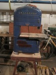 My dad's bandsaw, still in use