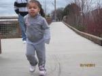 Halia on the run