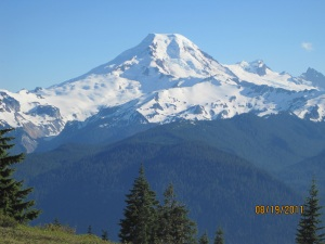 Mount Baker from Excelsior Pass
