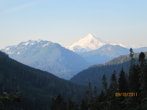 Mount Baker from Yellow Aster Butte trail