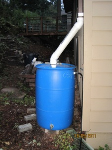 My Do It Yourself Rain Barrel Installation Part Ii