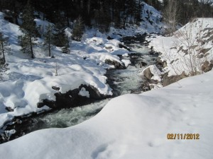 Icycle creek at Leavenworth